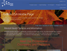 Tablet Preview of amha-usa.net